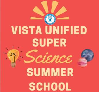 """El tema del distrito para las clases de verano de las escuelas primarias es """"¡Un Verano Súper Científico!"""""""