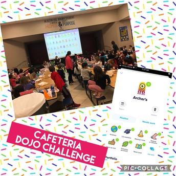 Cafeteria behavior challenge