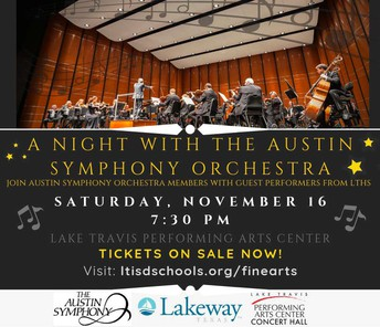 A Night with the Austin Symphony Orchestra poster