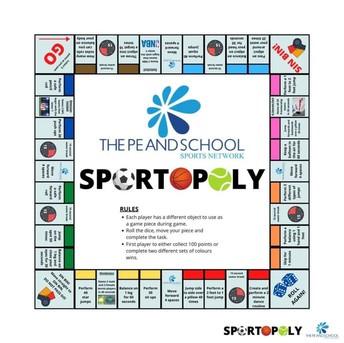 Play Sportopoly!