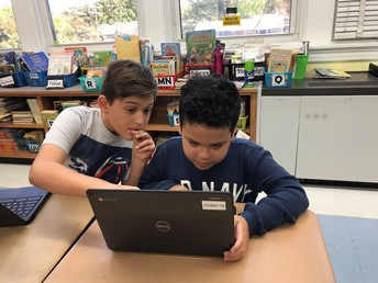 Grade 4 on Chrome books