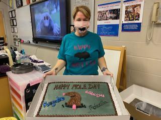 Mrs. McKenna's Chemistry classes Mole Day Celebrations