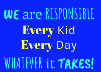 WE ARE RESPONSIBLE!