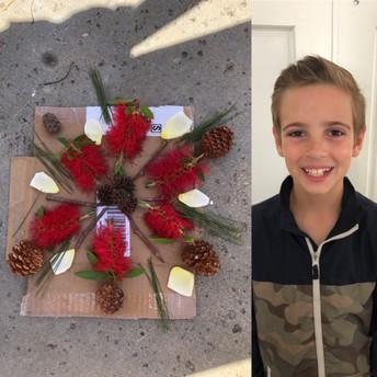 4th Grade Mandala Project by Kaden
