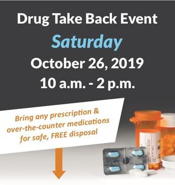 National DEA Drug Take Back Day