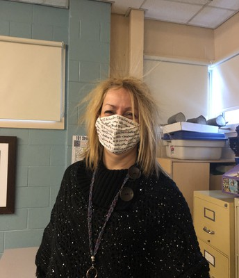 Ms. Hardy - bad hair day