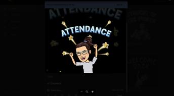 ATTENDANCE  TROPHY - CONGRATULATIONS!!
