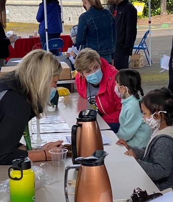 Sexton's First Outdoor Kindergarten Orientation!