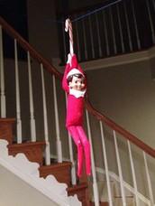 Elf Stuck on a Shelf: STEM Zip Line Challenge