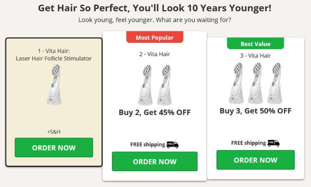 buy Vita Hair Brush