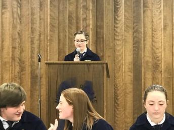 Elleigh Fisher - Chairperson