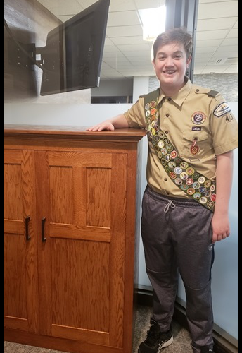 SMCHS Student Earns Eagle Scout Rank
