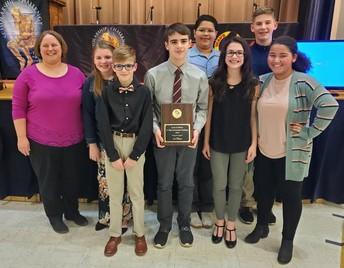 Wyalusing Junior High Team Wins Championship!