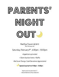 Parent's Night Out - February 9th