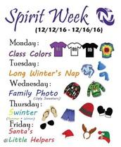 Spirit Week this Week