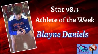 Blayne Daniels Named Athlete Of The Week