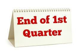 End of Quarter 1 was October 18th