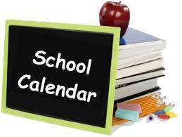 DISTRICT SCHOOL CALENDARS