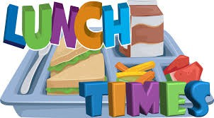Classroom teachers and lunch times