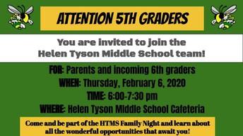 Helen Tyson Middle School Night