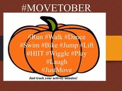 Welcome to #Movetober