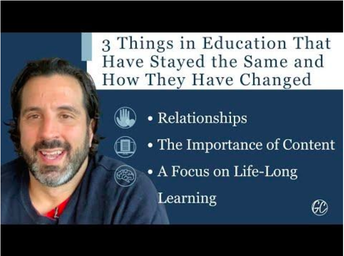 3 Things in Education That Have Stayed the Same and How They Have Changed (LCAP Goal 2):