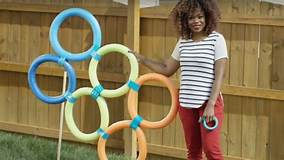 DIY Dollar Store Backyard Obstacle Course