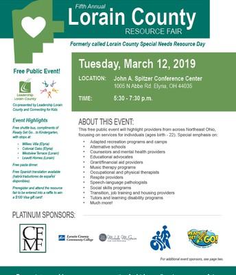 Lorain County Resource Fair