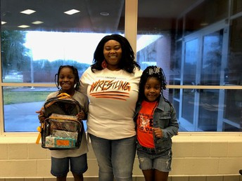 Turn Around Project at OCBF gives away stuffed backpacks