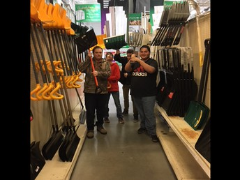 Purchasing snow removal equipment for the special education department's rental house
