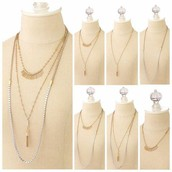 SOLD Riad multi layering necklace £40 RRP £75