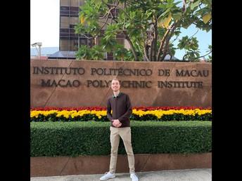 Levi Krum, English Teaching Assistant in Macau