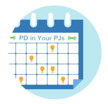 Seesaw PD in Your PJs Online--March Webinars