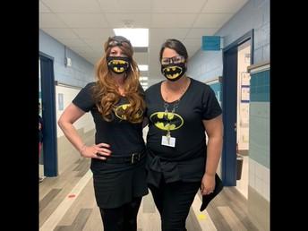 SUPER HEROES TRISHA AND SUSAN