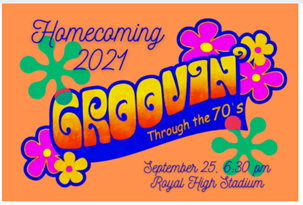 Groovin' Through the 70s- Homecoming 2021