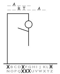Spelling: Hangman