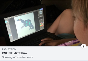Painted Stone Elementary Art Show