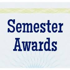 Semester Awards