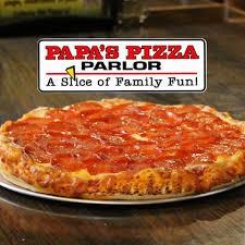 Papa's Pizza Fundraiser: