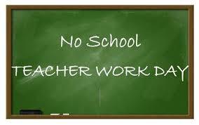 No School on Monday, November 9th