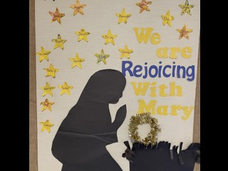 "1L is ""Rejoicing with Mary"""