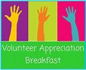 2019 Volunteer Breakfast - September 10th at 8:00