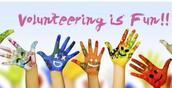 Volunteering at Marinette School District