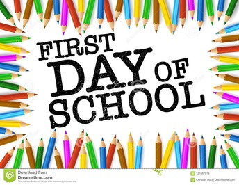 September 8 - First Day of School
