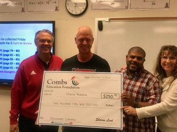 CHS Teacher wins grant $$