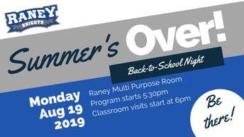 Back to School - August 19