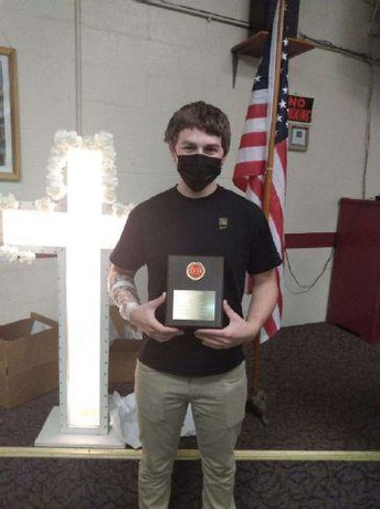 Avonworth Grad Honored by Local Firefighters