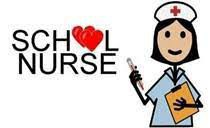 school nurse, drawing of nurse with pencil and clipboard