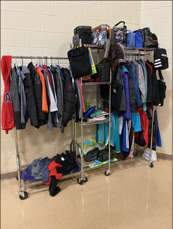 Please check Lost and Found!
