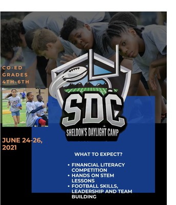 Do You want to be apart of Sheldon Day's Daylight Camp?